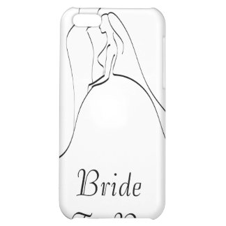 KRW Bride to Be Elegant Silhouette  iPhone 5C Cases
