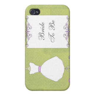 KRW Bride to Be Wedding Dress  iPhone 4 Cover