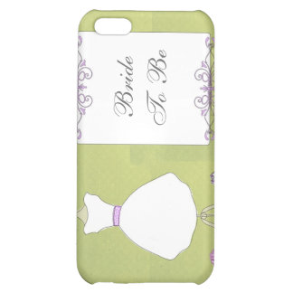 KRW Bride to Be Wedding Dress  Case For iPhone 5C
