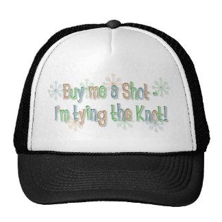 KRW Buy Me a Shot Retro Bachelor Hat