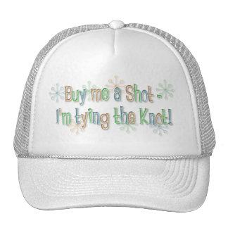 KRW Buy Me a Shot Retro Bachelorette Hat