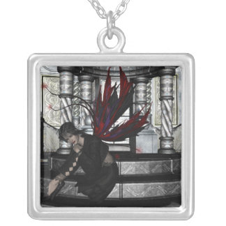 KRW Contemplation Fairy Fantasy Silver Necklace
