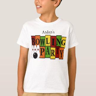 KRW Custom Bowling Birthday Party Kid's T-shirts