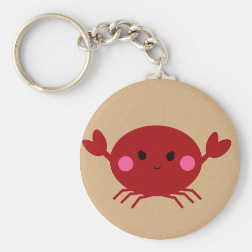 KRW Cute Crab Keychain