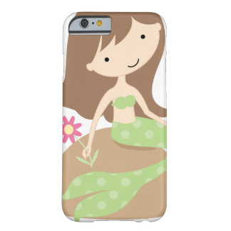 KRW Cute Green Mermaid Barely There iPhone 6 Case