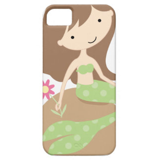 KRW Cute Green Mermaid iPhone 5 Cover