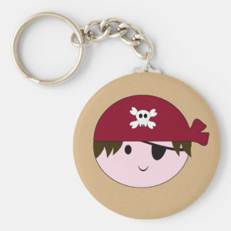 KRW Cute Pirate Birthday Keychain