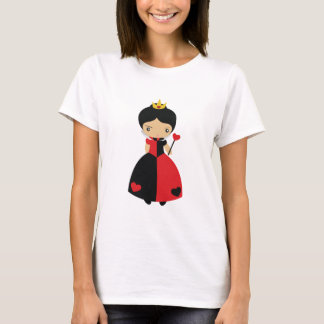 KRW Cute Queen of Hearts T-Shirt