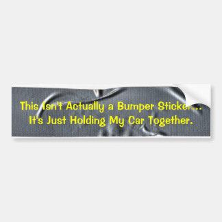 KRW Designer Duct Tape Bumper Sticker