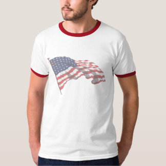 KRW Flag & Pledge of Allegiance T-Shirt