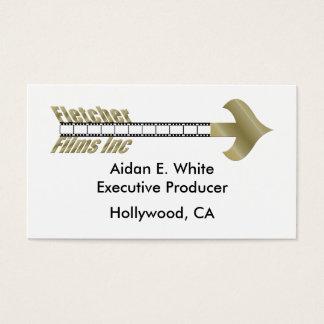 KRW Fletcher Films logo Business Card