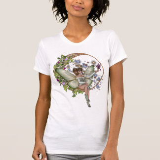 KRW Floral Moon Faery T Shirt