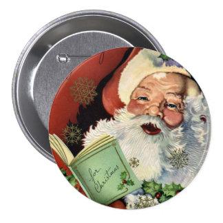 KRW Fun Vintage Santa Claus Pins