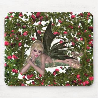 KRW Garden Faery - Blonde Mouse Pad