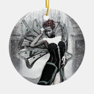 KRW Gothic WinterFaery Fantasy Ornament