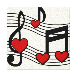 KRW I Love Rock n Roll Canvas Print