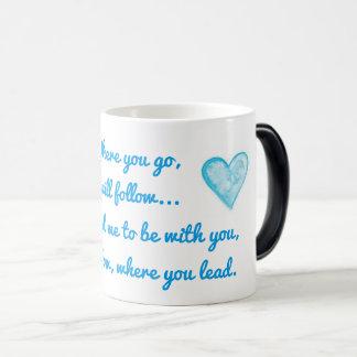 KRW I Will Follow Morphing Mug