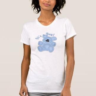 KRW It's a Boy Teddy Bear Maternity T-Shirt