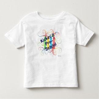 KRW Kickin' It Pre-School Crayons Grunge Toddler T-Shirt