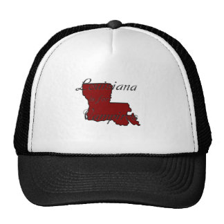 KRW Louisiana is for Vampires Mesh Hat