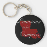 KRW Louisiana is for Vampires Keychains