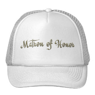 KRW Matron of Honor Wedding Party Hat