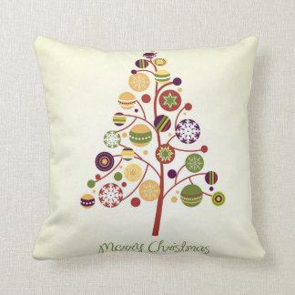 KRW Modern Stylized Christmas Tree Pillow Throw Cushions