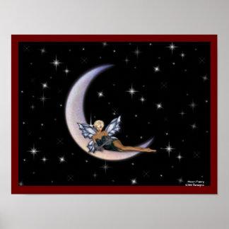KRW Moon Faery Poster
