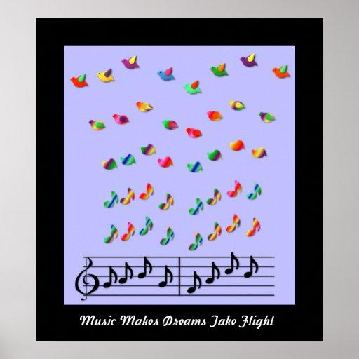 KRW Music Makes Dreams Take Flight Poster