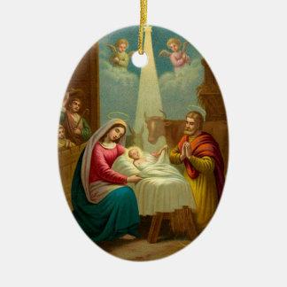 KRW O Holy Night Christmas Carol Ornament