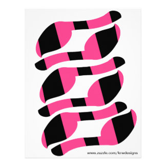 KRW Pin the Tail on the Zebra Tails Set of 6 21.5 Cm X 28 Cm Flyer