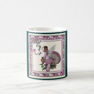 KRW Pink Heart Fairy Coffee Mug