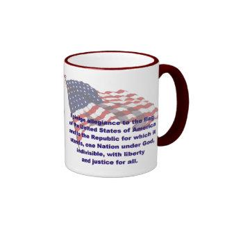 KRW Pledge of Allegiance Coffee Mug