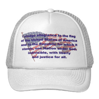 KRW Pledge of Allegiance Hat