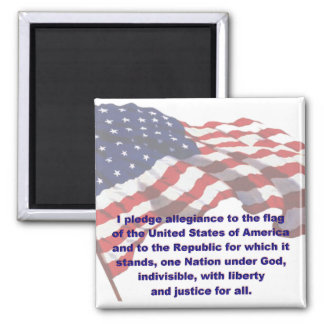 KRW Pledge of Allegiance Magnet