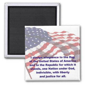 KRW Pledge of Allegiance Magnet