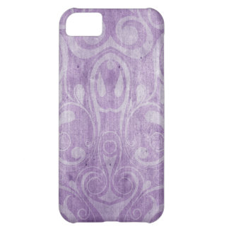 KRW Purple Gothic Swirls iPhone 5 Case