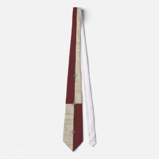 KRW Retro Color Block Striped Tie