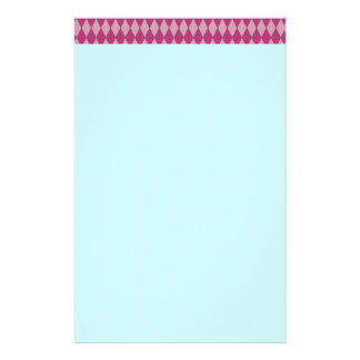 KRW Retro Pink Diamond Pink Stationery