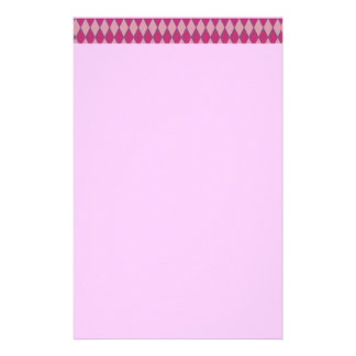 KRW Retro Pink Diamond Pink Stationery