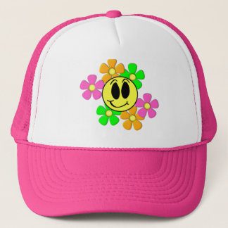 KRW Retro Smilie Trucker Hat