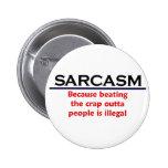 KRW Sarcasm Funny Joke Pin