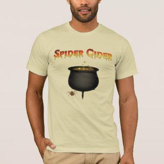 KRW Spider Cider Cauldron Halloween T-Shirt
