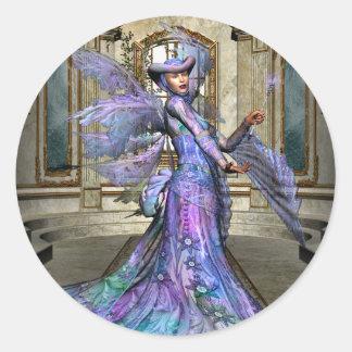 KRW The Fairy Godmother Classic Round Sticker