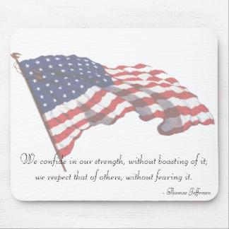 KRW Thomas Jefferson Quote Mousepad