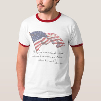 KRW Thomas Jefferson Quote T-Shirt