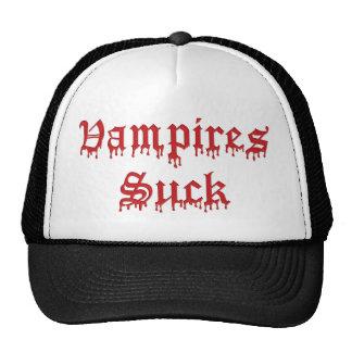 KRW Vampires Suck Dripping Blood Mesh Hats