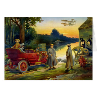 KRW Vintage Automobile 1910 Card