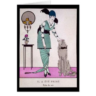 KRW Vintage Gazette du Bon Ton 1914 Blank Card