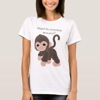 KRW Want to monkey around? T-Shirt